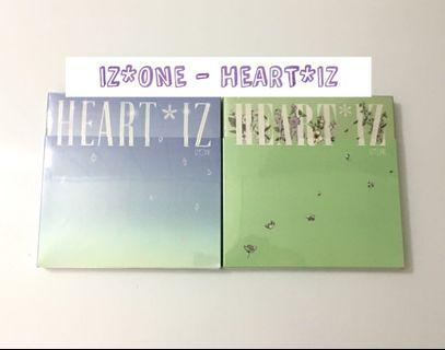 [PENDING] IZ*ONE IZONE - HEART*IZ album