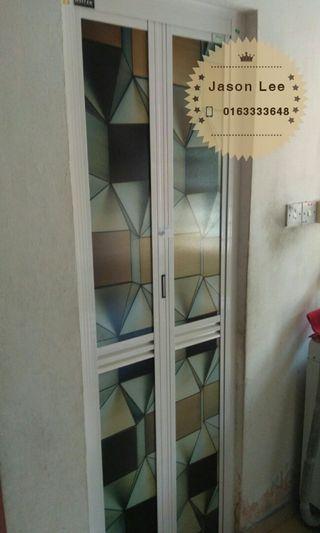 bifold door (pintu lipat aluminum)w1917