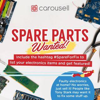 Spare Parts Wanted!