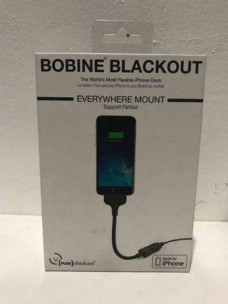 Bobine Blackout iPhone Cable/Dock