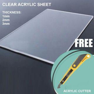 Arcylic Sheet and Cutter