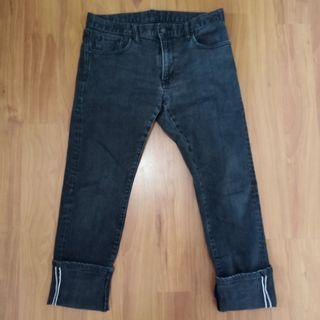 UNIQLO Stretchable Selvedge (kepala kain)