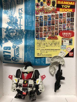 元祖 0079 G Changer 多魯基斯 高達模型 SD BB gundam(原袓 素組 補件 配件 HG MG PG bandai toy book)