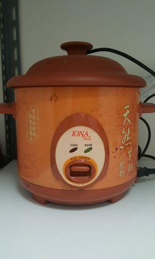 Deep fryer and rice cooker