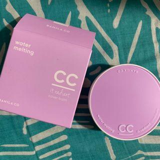 CC IT RADIANT COVER BALM WATER MELTING