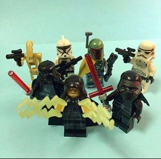 May the 4th set - Star Wars Lego Inspired Mini Figures