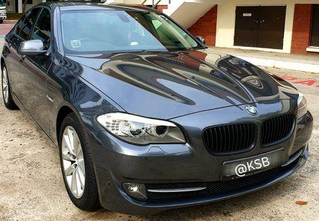 BMW 523i - For Rental ( with driver ) Airport / City transfers. Special Event Transportation