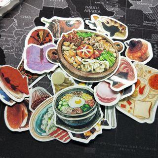 食物類貼紙 🍔