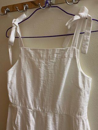 TEM White Midi Dress