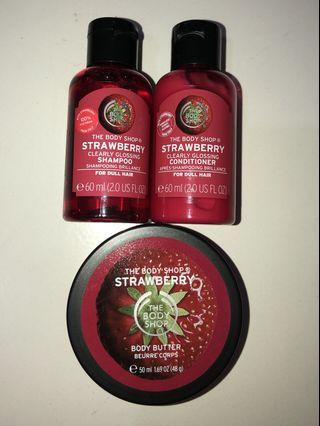 The Body Shop Gift Set in STRAWBERRY