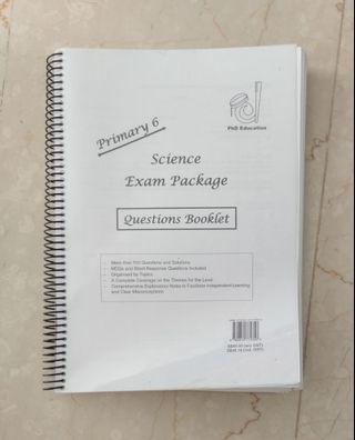 Science Exam package. PhD Education