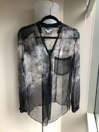 Helmut Lang Sheer Shirt (S)