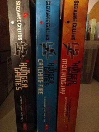 Hunger Games Trilogy by Suzanne Collins ( Printed 2010 )