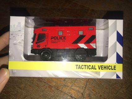 Brand New Singapore Police Force SPF Special Operations Command SOC Tactical Vehicle Toy Car