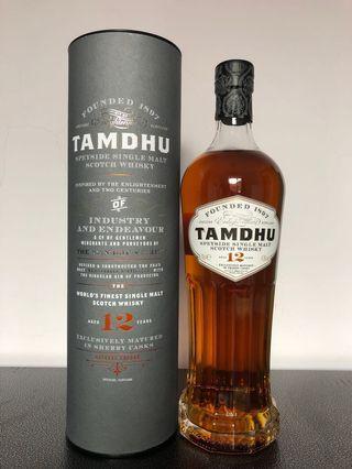 Tamdhu 12 single malt whiskey 台版