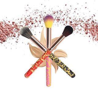 🦄BS0325 1Pc Crack Powder Pincel Beauty Brush🦄