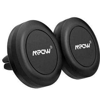 MPOW Magnetic Car Phone Mount [2 Pack] Universal Air Vent Car Mount Phone Holder, New
