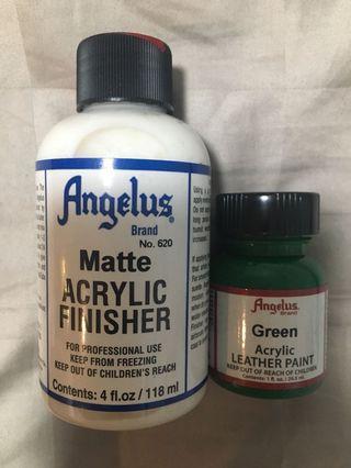 Angelus Acrylic Finisher & Paint