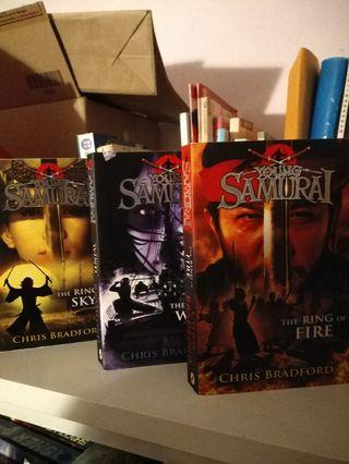 Chris Bradford's Young Samurai Series: Ring of Fire, Ring of Wind, Ring of Sky