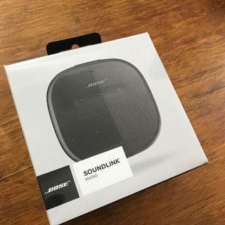 免運 全新 Bose SoundLink Micro 藍牙揚聲器 藍牙 喇叭 音響