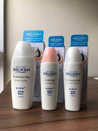 Paket Sunscreen Skin Aqua