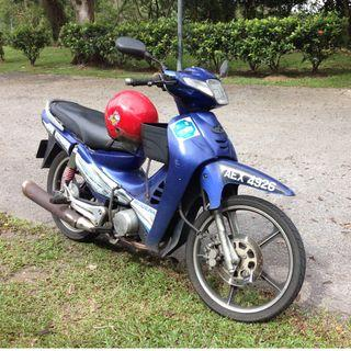 Modenas 2001 kriss 100 for sale