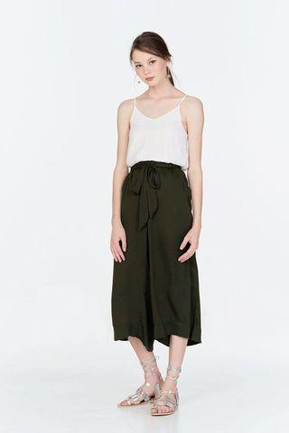 TCL Savilles Culottes in Olive