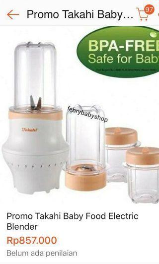 REPRICE!! MURAH N BAGUS!! Blender baby food takahi