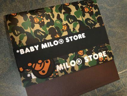 Babymilo notebook x 2