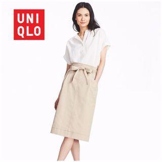 NWT Size L Linen Blended Short Sleeve Blouse #endgameyourexcess