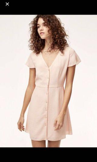 Aritzia Nazaire Dress in Sakura Size 4
