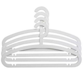 IKEA Hemlis Clothes Hanger WHITE New DISCONTINUED Hangers