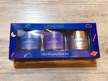 🚚 Laneige Dream & Glow Mini Sleeping Mask Set