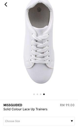 Missguided White Shoes/ Sneakers