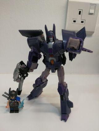 Transformers RTS cyclonus and nightstick