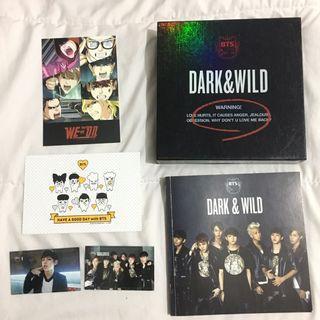 BTS - Dark and Wild Album
