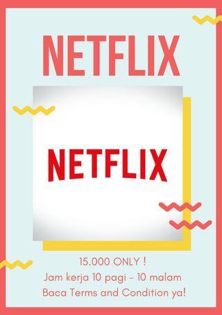 MASIH PROMO! Netflix PREMIUM 1 bulan