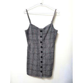 🚚 [售/換] Net 毛料細肩帶洋裝