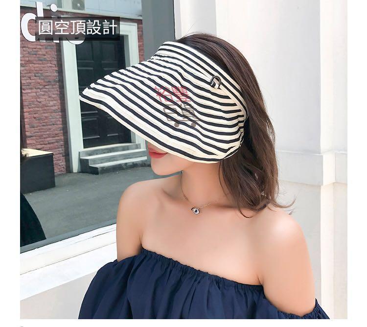 夏天防晒可折叠沙滩大陽帽