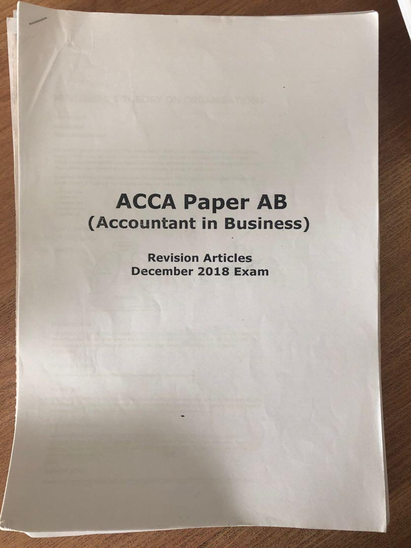 ACCA law (F4) performance management book 1(F5) taxation (F6