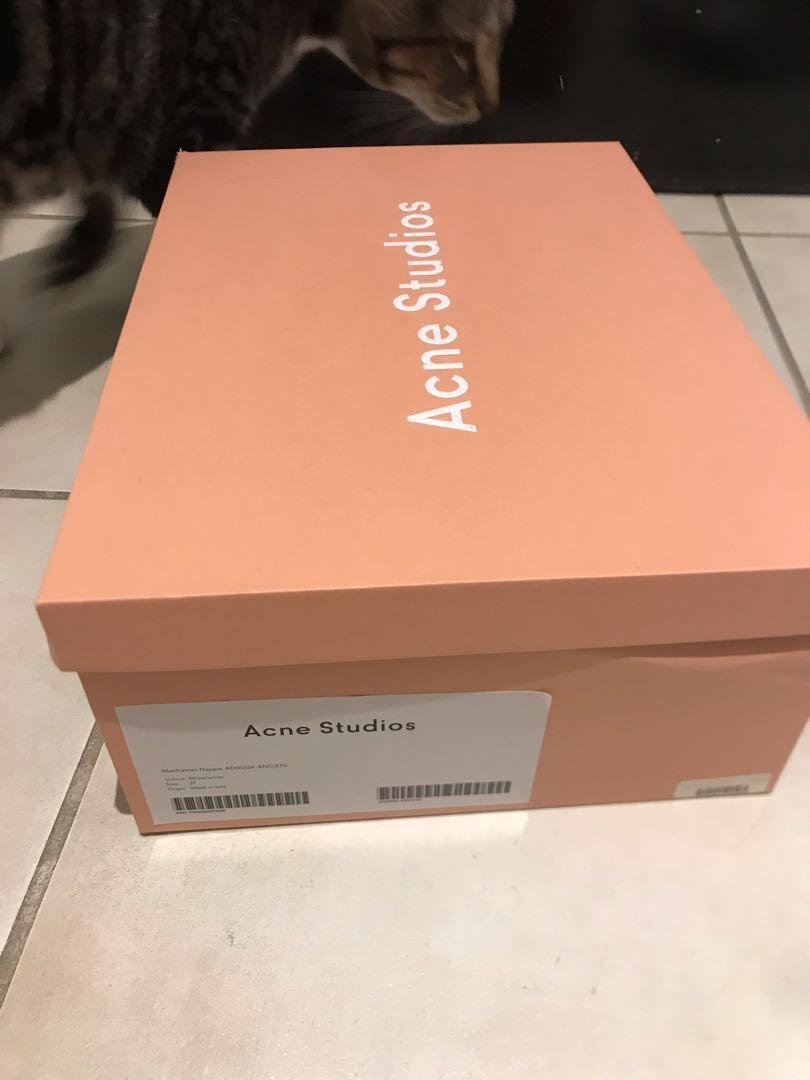 ACNE WOMENS MANHATTAN SNEAKER Luxury sneakers designer shoes