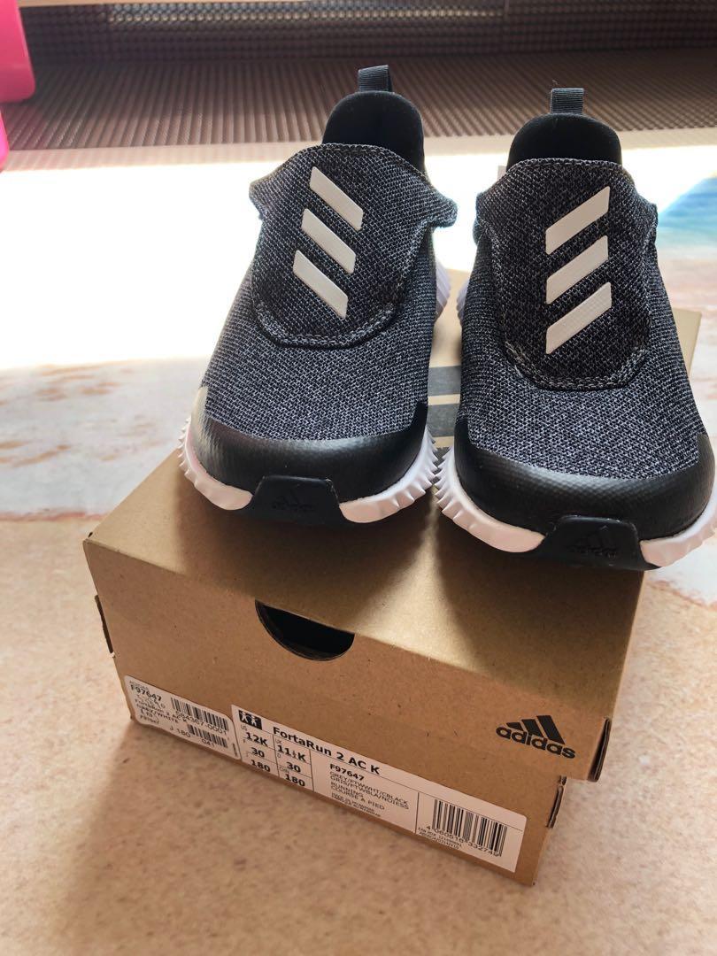 Adidas FortaRun Shoes (Kids size: UK11