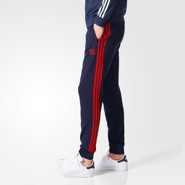 c9c0061539d Adidas Originals Superstar Cuffed Trackpants, Men's Fashion, Clothes,  Bottoms on Carousell