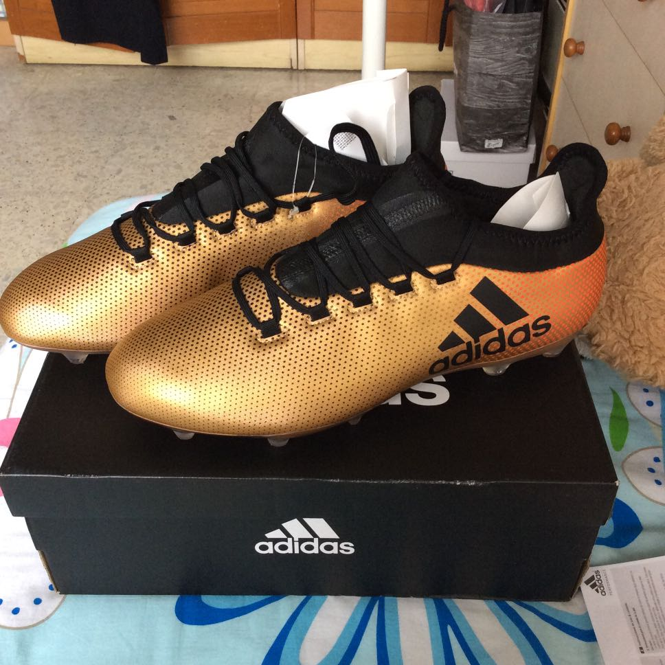 8d63188c7 Adidas Soccer Boots X 17.2 FG, Men's Fashion, Footwear, Boots on ...
