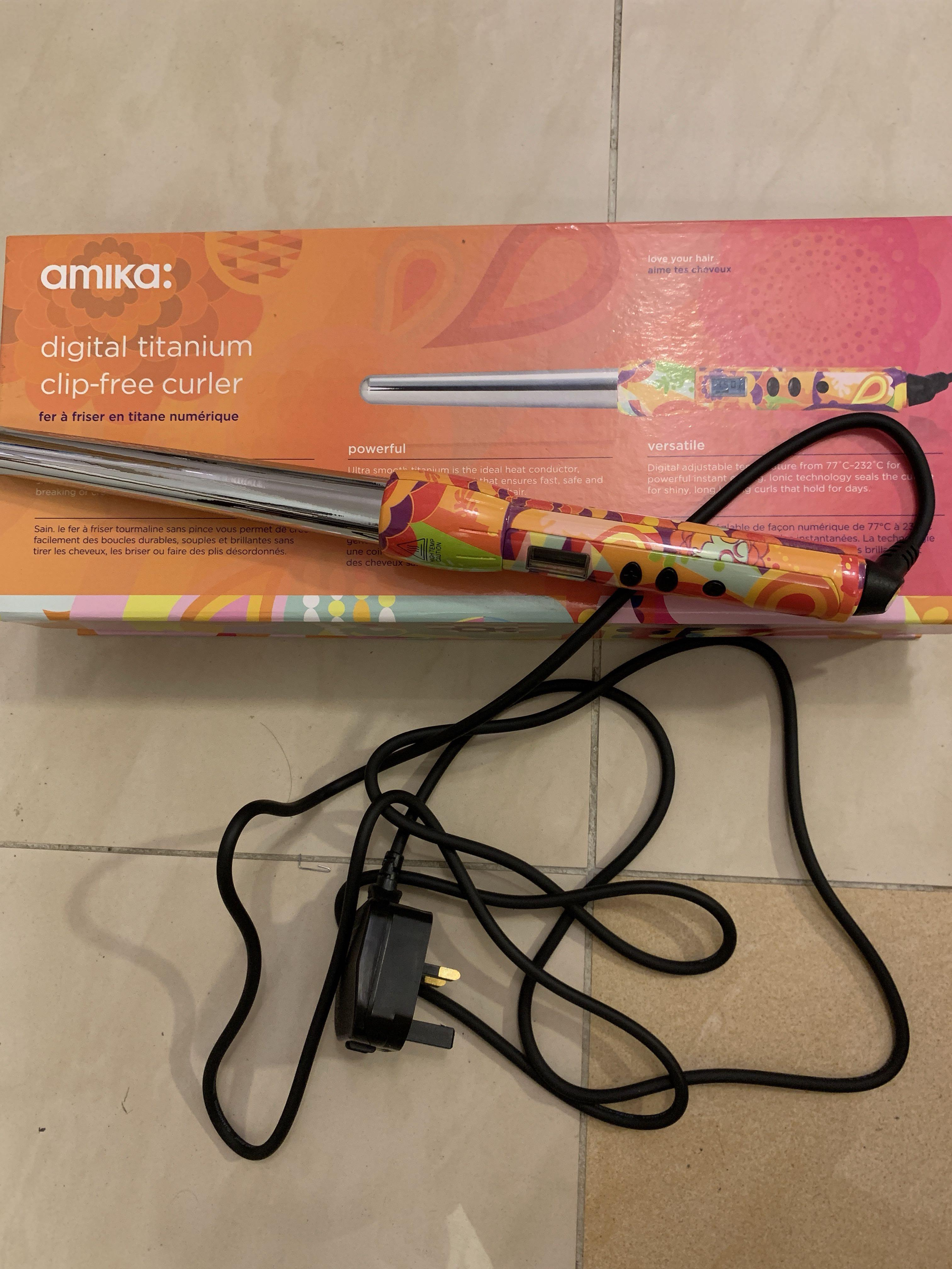 Amika曲髮器18-25mm(有保養)