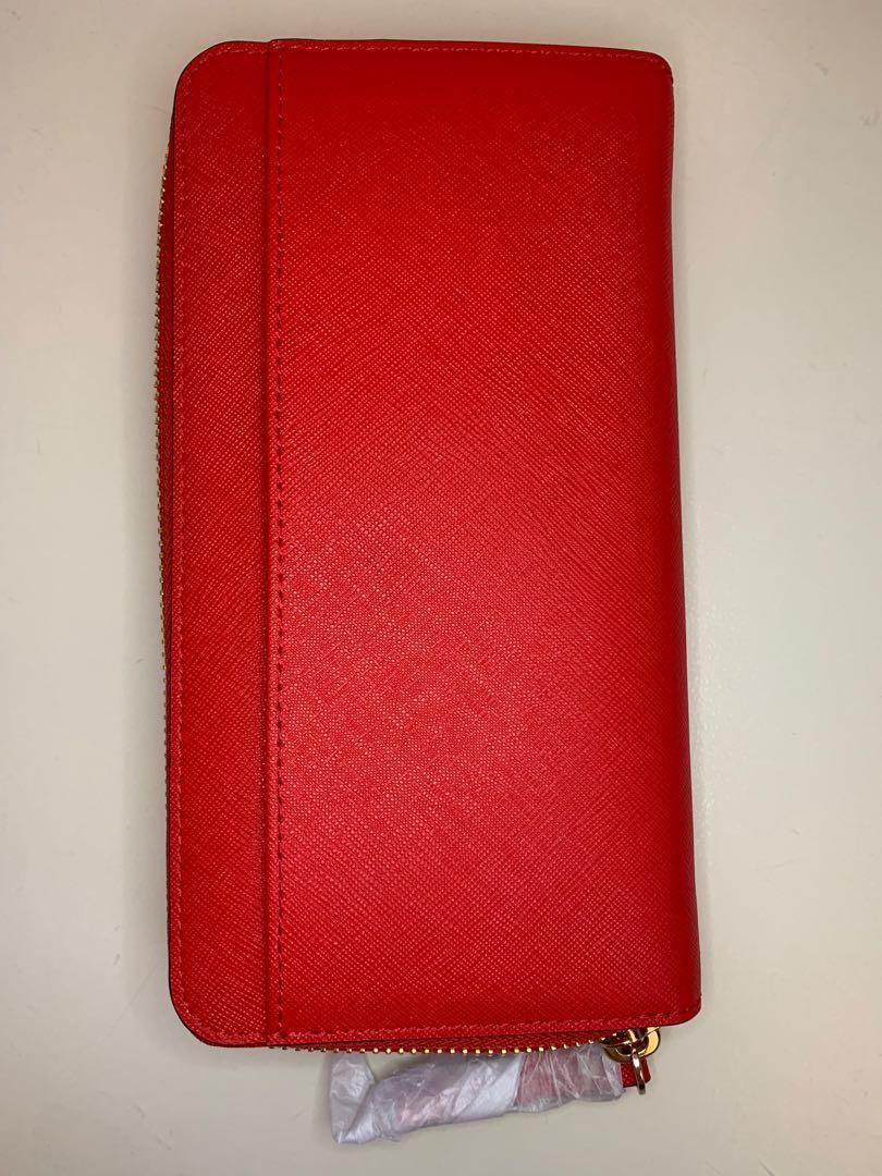 BN Kate Spade Cedar Street Lacey wallet in Cherry Liquor 635