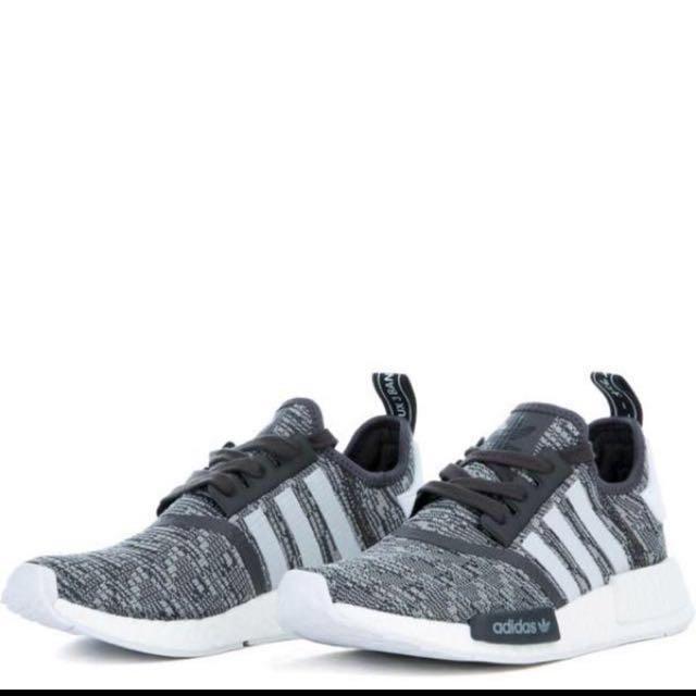 122fe1c8f28de BNIB Adidas NMD R1 Grey US size 6 or 8.5