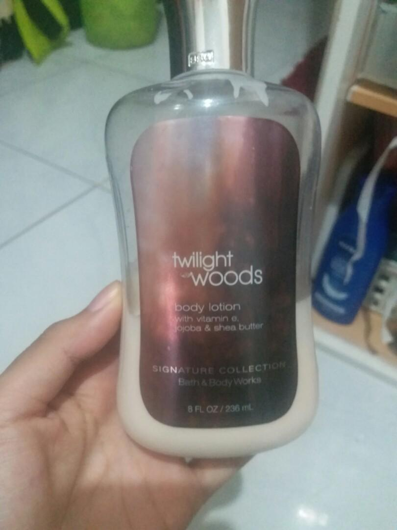 Body Lotion bath and body works twilight woods