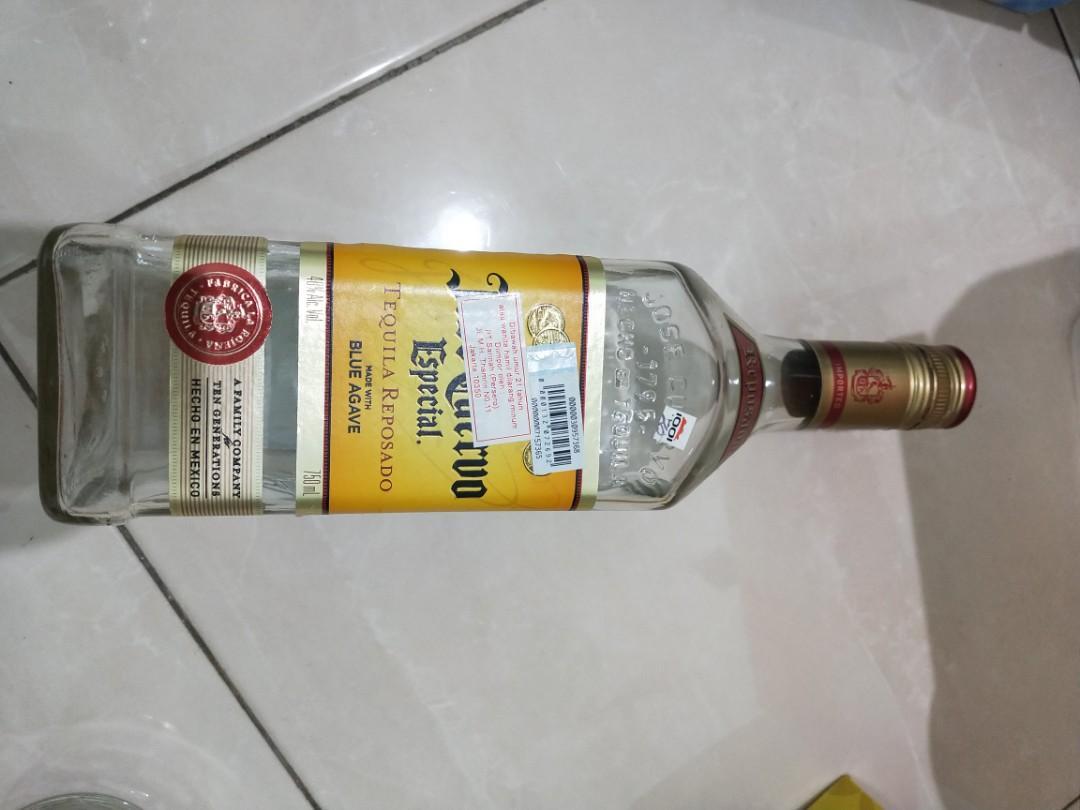 Botol Jack daniels , hennesy, martel, jose curvo tequila ori