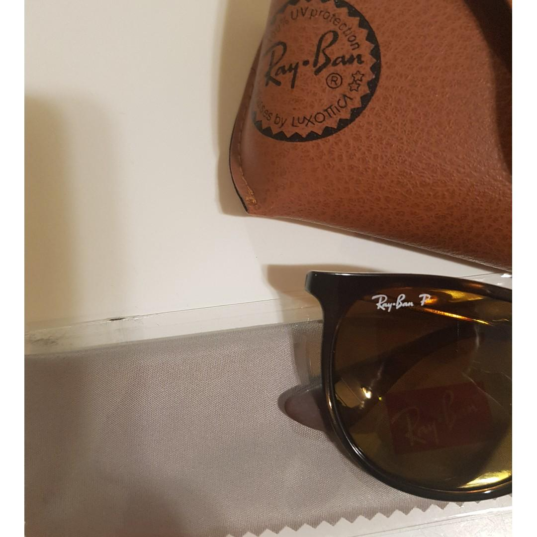 BRAND NEW RAYBAN ERIKA SUNGLASSES 4171 PAID $225 - COMES WITH RECEIPT